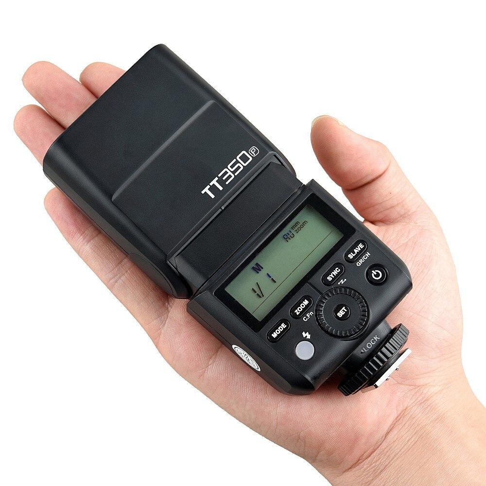 GODOX TT350P Thinklite 2 4G HSS 1/8000s TTL GN36 Camera Flash for PENTAX  645Z K-3II K-1 Mark II KP K-50 K-S2 K70 Camera