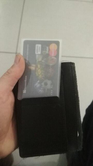 20PCS Waterdichte PVC ID-kaarthouder Plastic kaart Cover Transparante bescherming Creditcard Bankkaarthouder ID-kaarthoes photo review