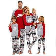 44a91f17860 Noël rétro famille correspondant vêtements famille pyjamas vêtements  ensembles père fils correspondant vêtements de noël mère fi.