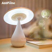 LED Student Eye Protection Table Lamp USB Mushroom Negative ion Air Purification Desk Lamp Children Bedside Reading Book Light