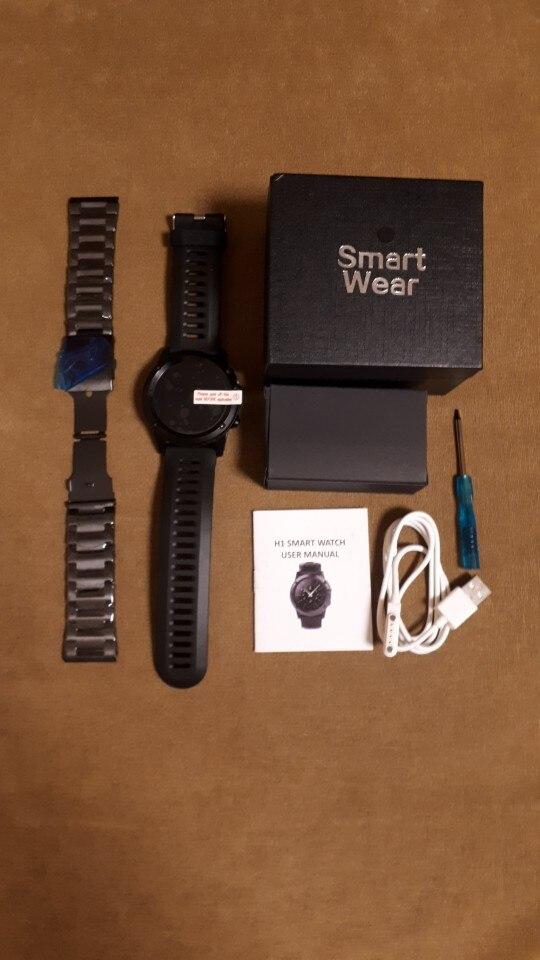 "Microwear H1 Smart Watch Android 4.4 Waterproof 1.39"" MTK6572 BT 4.0 3G Wifi GPS SIM For iPhone Smartwatch Men Wearable Devices"