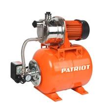 Насосная станция PATRIOT PW 850-24 INOX (Мощность 850 Вт, производительность 3000 л/час, глубина всасывания 7 м, высота подъема 30 м, диаметр соединения 1 дюйм)