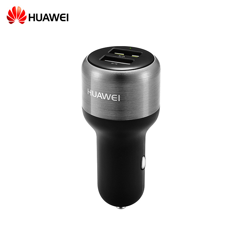 HUAWEI Car Charger AP31 black stylish car cigarette powered charging adapter charger for cell phone black 12 24v