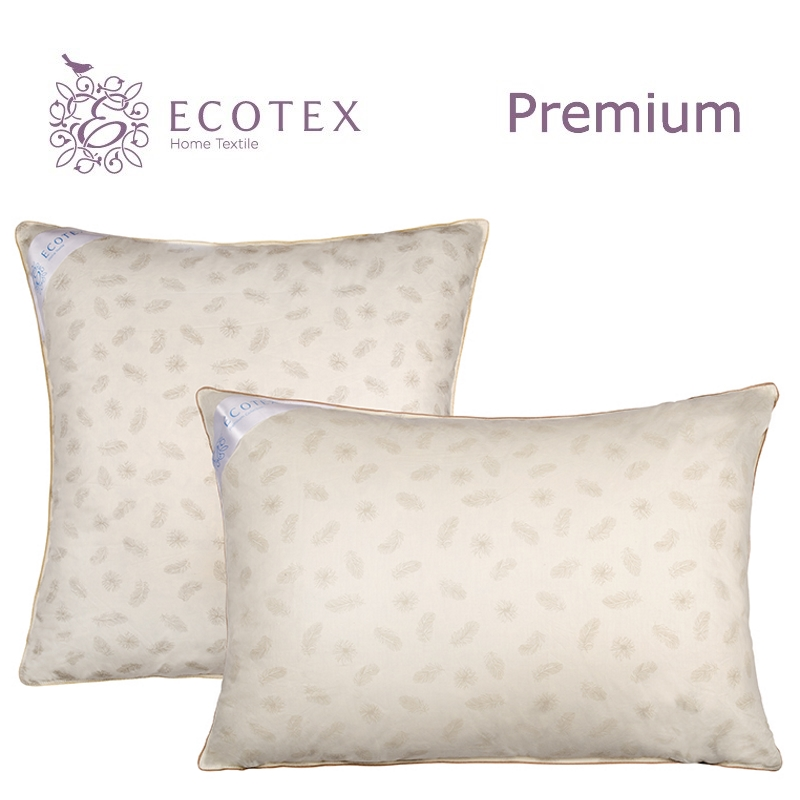 Pillow Edda collection Premium. Production company Ecotex(Russia). pillow argo collection premium production company ecotex russia