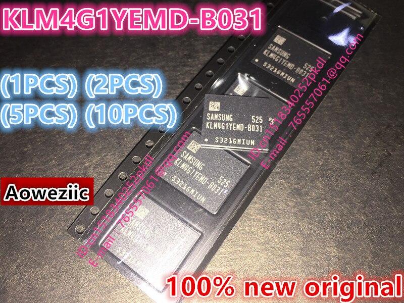 (1PCS) (2PCS) (5PCS) (10PCS) 100% new original   KLM4G1YEMD-B031 BGA  EMMC memory 4GB  KLM4G1YEMD B031 цена