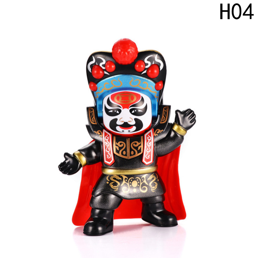12.5cm*5cm Chinese Tranditional Culture Face-changing In Sichuan Opera Doll Change Face/face Off Children Gift Baby Toys