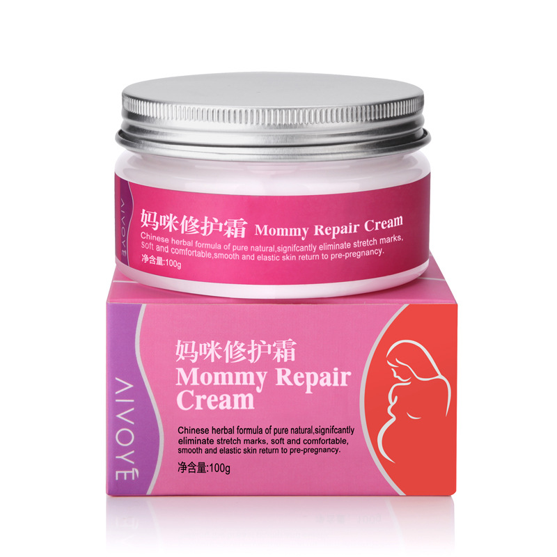 Natural Chinese Herbal Pregnancy Stretch Mark Removal Cream Pregnancy Repairing Cream Fade Stretch Mark Whitening Cream