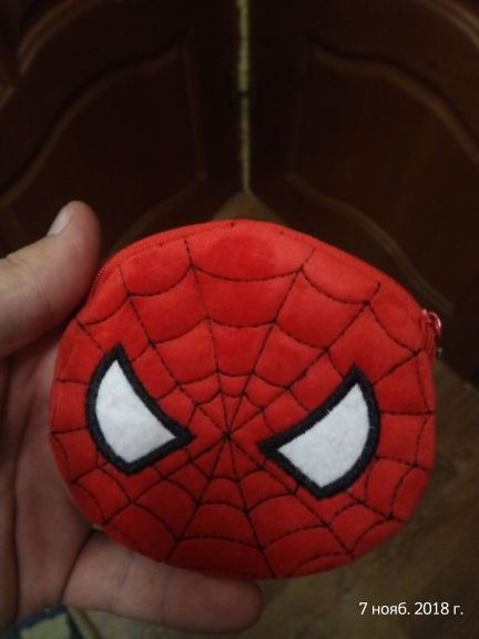 Hot On Sale Kawaii Cartoon Spiderman/Unicorn Children Plush Coin Purse Zip Change Purse Wallet Kids Girl Women For Gift photo review