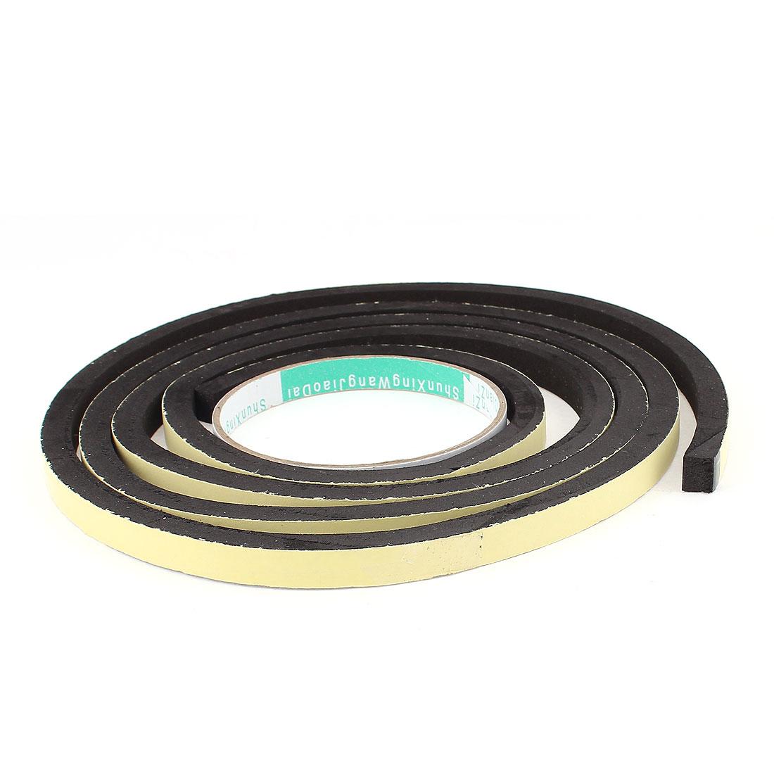X Autohaux 2M Long 10Mm X 8Mm Door Window Single Side Adhesive Foam Sealing Tape Strip