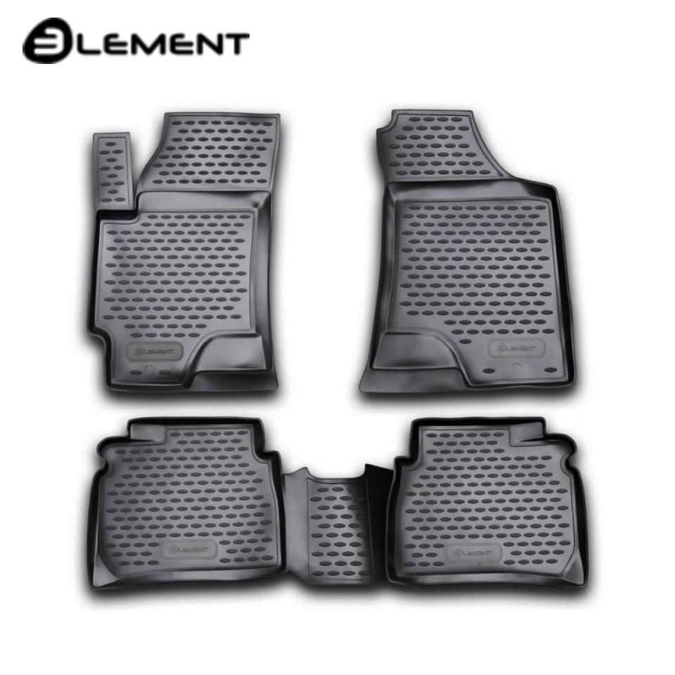 Para Hyundai Elantra xD 2001-2006 tapetes em saloon 4 pçs/set Elemento NLC2007210