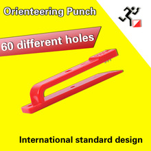 Orienteering punch  marker 10 pieces/sets directional cross-country Puhch free shipping