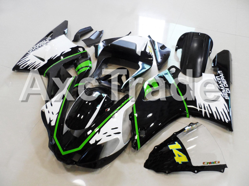 Motorcycle Fairings For Yamaha YZF1000 YZF 1000 R1 YZF-R1 2000 2001 00 01 ABS Plastic Injection Molding Fairing Bodywork Kit 211 complete motorcycle unpainted abs fairing kit for yamaha yzf r1 2000 2001 injection moulding blank bodywork
