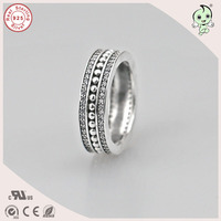 Hot Sale High Quality Casual 100% Retro 925 Real Silver Ring