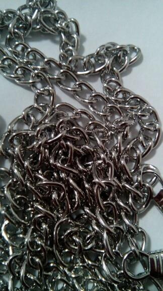 Metal Purse Chain Strap DIY Handle Shoulder Cross Body Bag Handbag Replacement photo review