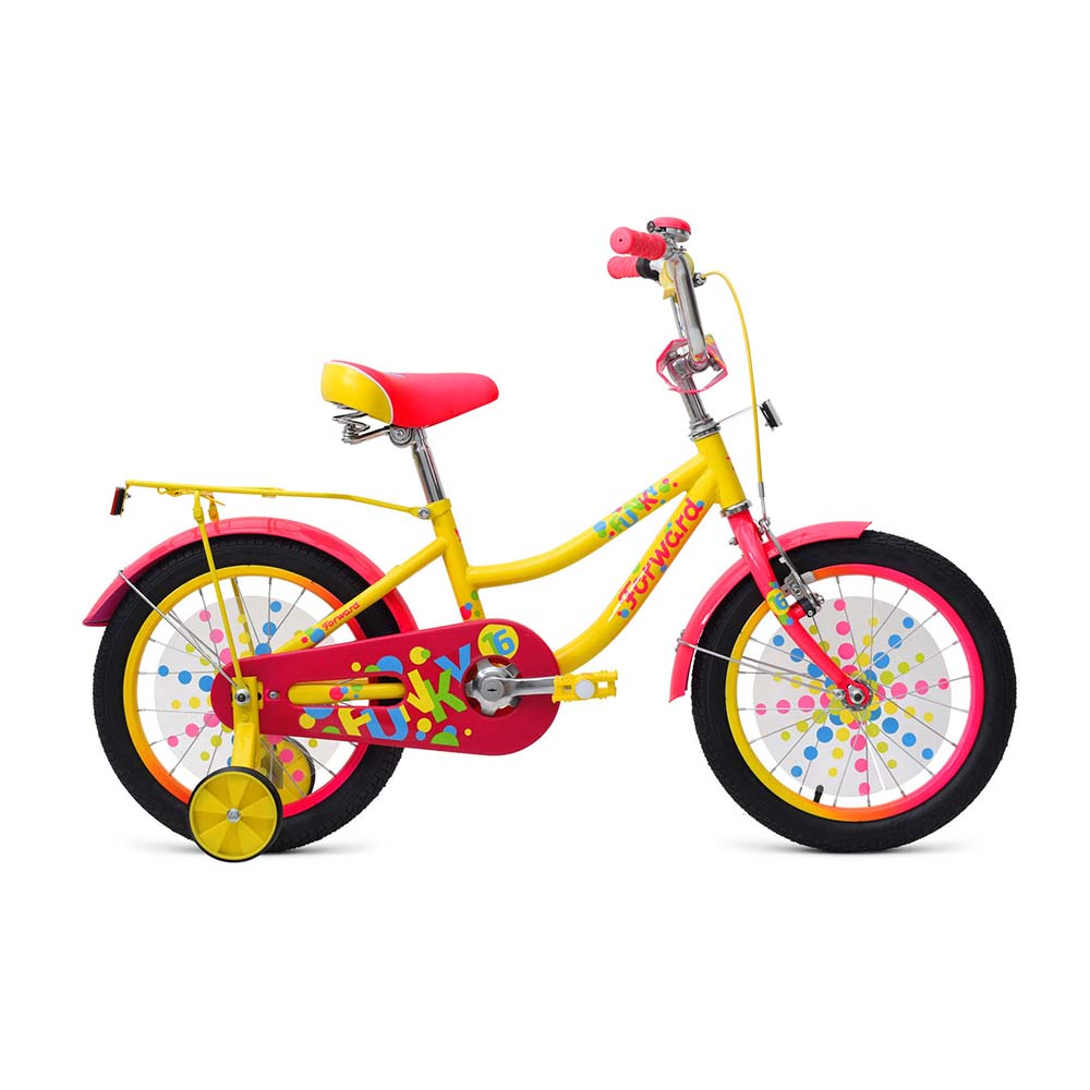 Bicycle children's Forward FUNKY 16 (2017-2018) цены
