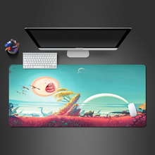 The Sun Rick And Morty Mousepad Best-selling Non-slip Lock Pad Washable Rubber Gaming Paly Computer Keyboard Mouse Pad
