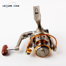 All steel cup fishing line Spinning wheel Left/Proper Hand deep sea Fishing Reels 1000-6000 collection Gear ratio:5:2:1
