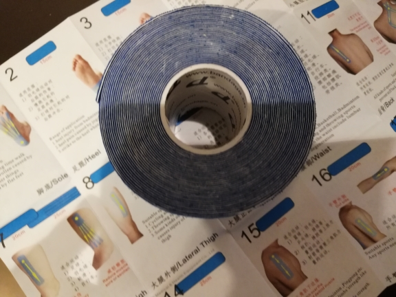 Free shipping Kinesiology tape No or with box+Manual Elastic Medical Adhesive Bandage Physio MuscleTherapy Sport Safety Care