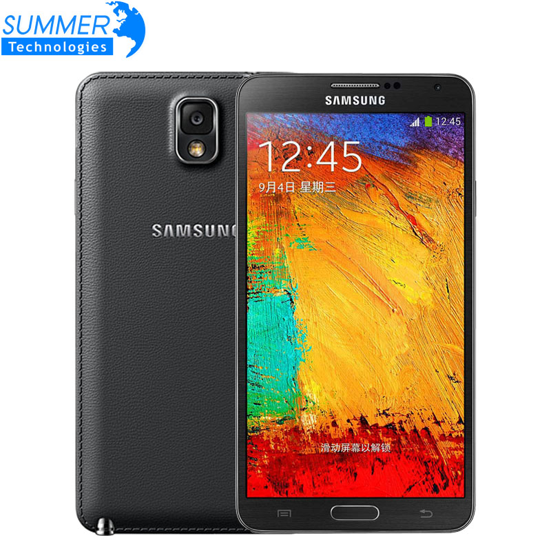 Original Unlocked Samsung Galaxy Note 3 N900 N9005 Android Quad Core 3GB RAM 16GB ROM 13MP Camera 5.7