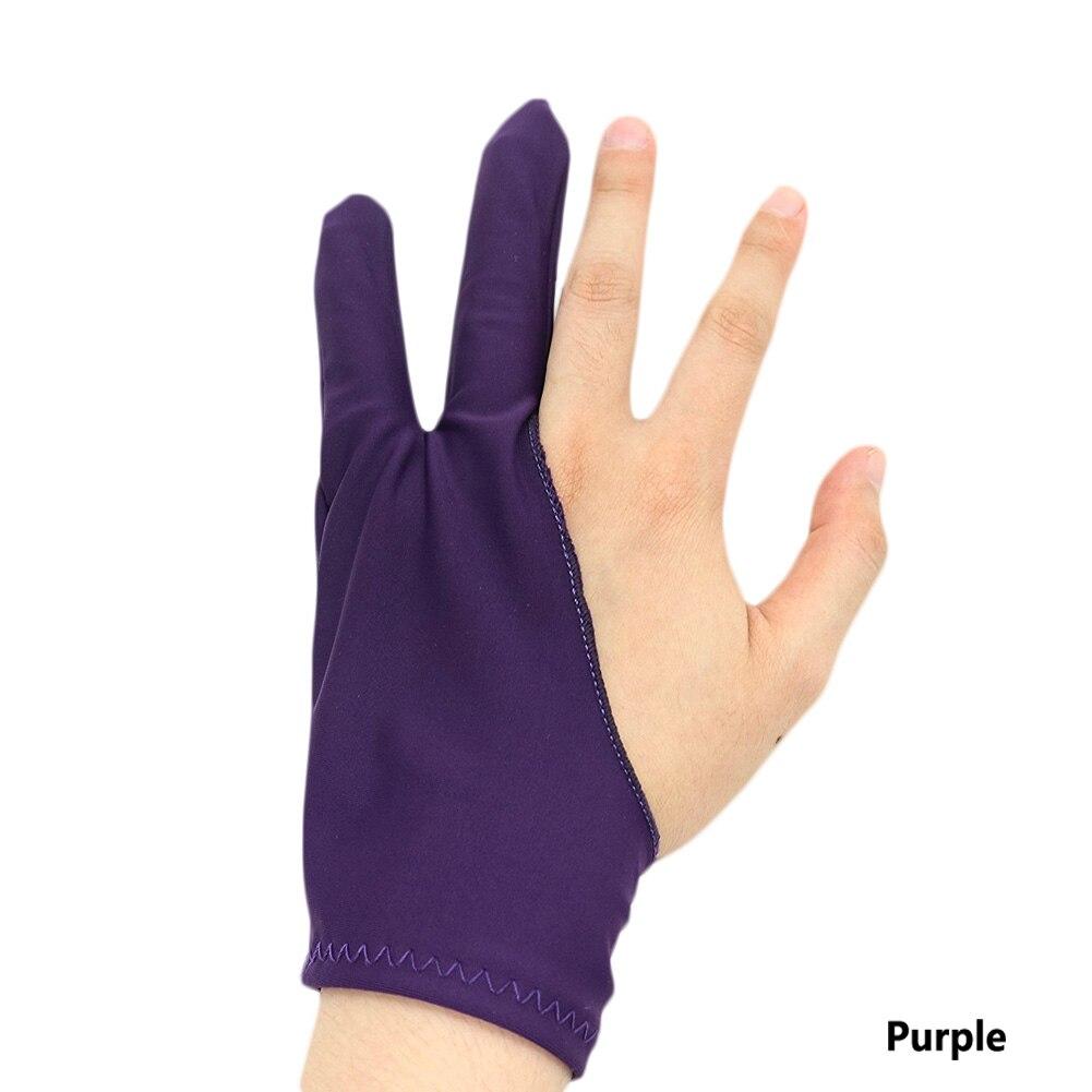 1 Stück Hohe Qualität Anti-fouling Zeichnung Handschuh 2 Finger Malerei Künstler Handschuh Digitale Tablet Handschuh Sowohl Für Rechts Und Links Hand