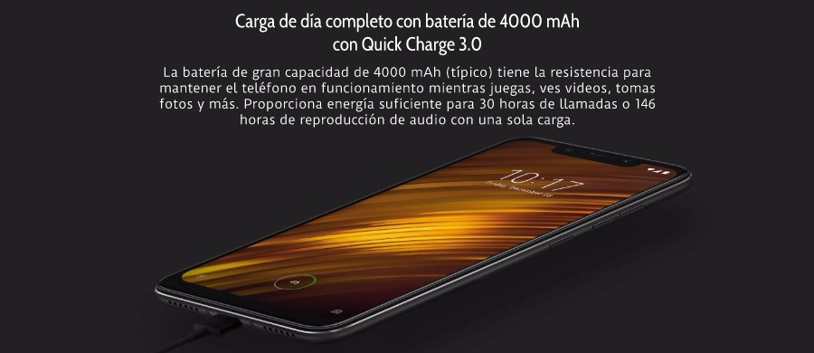 Versión Global Xiaomi Pocophone F1 128GB ROM 6GB RAM 3