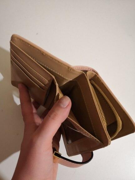 Подкладка Материал:: Полиэстер; СМД гало; портмоне; бумажник женщин;