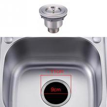 Нержавеющая сталь ABS пробка для кухонной мойки заглушка для сливное отверстие для ванны сливное ситечко для раковины воды резиновые для раковины крышка фильтра Sinkhole
