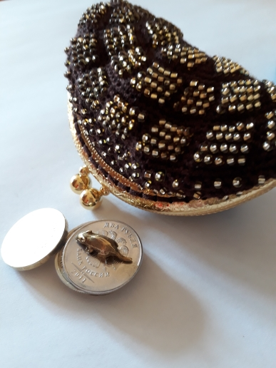 KISSDIY 10pcs 8.5cm antique bronze silver Golden gun metal BUD Metal Purse Frame coin kiss clasp DIY bag hardware accessory photo review
