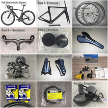 65579a7adfe CARROWTER Bicycle Cipollini Complete road bike with NK1K frames 50mm carbon  wheels