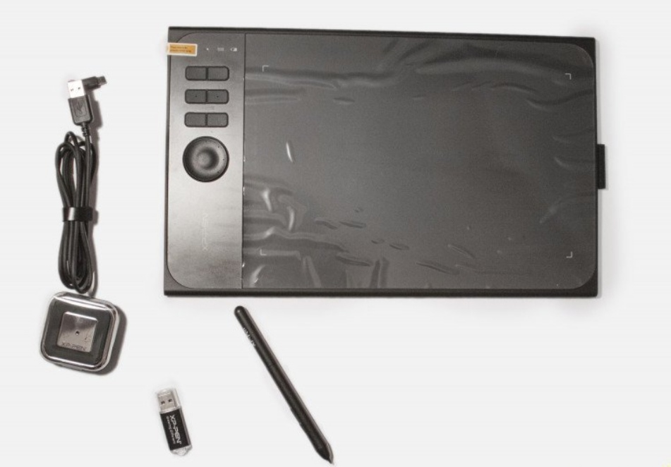 XP-Pen Star06 Wireless 2.4G Graphics Drawing Tablet/ Painting Board with 8192 levels Battery-free Stylus