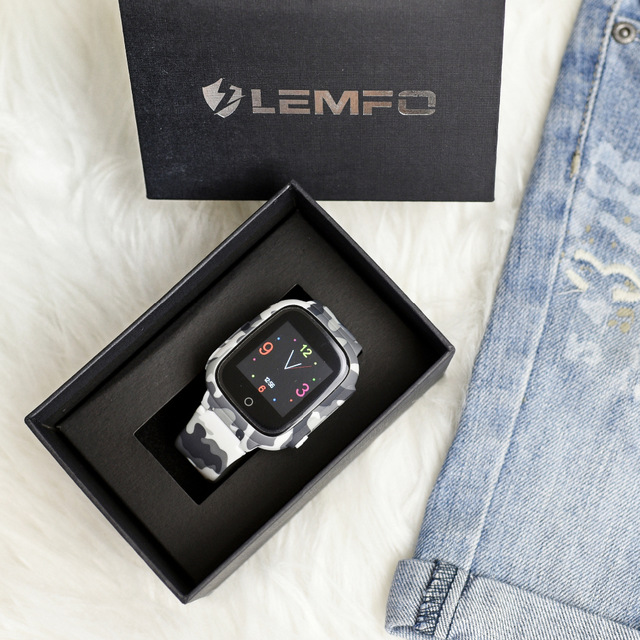 LEMFO LEC2 Smart Watch Kids GPS 600Mah Battery Baby Smartwatch IP67 Waterproof SOS For Children Support Take Video-in Smart Watches from Consumer Electronics on AliExpress