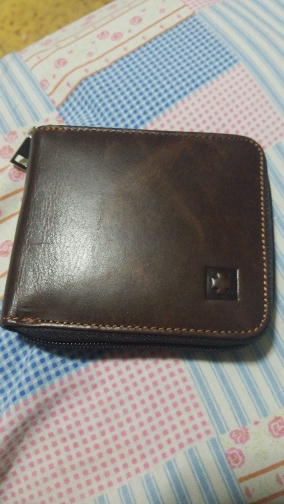 New Brand Men Wallet Genuine Leather Zipper Coin Purse Men Short Wallets RFID Protection Credit Card Holder Travel Wallet R9 photo review