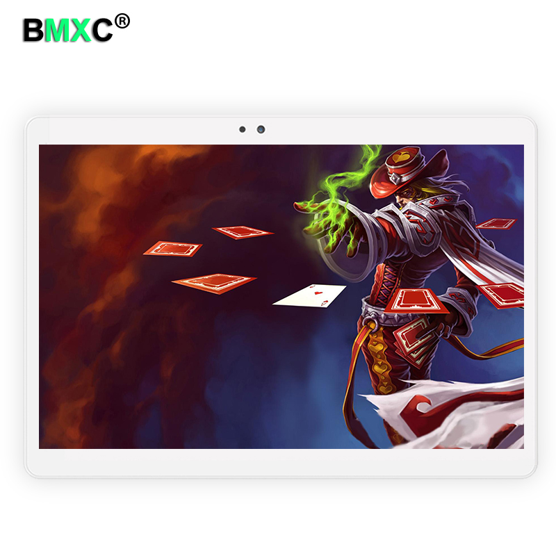 10.1 inch Octa Core 2017 Original powerful Android Tablet Pc 4GB RAM 64GB ROM IPS Dual SIM card Phone Call Tab Phone pc tablets 100% guarantee original solid carbide milling cutter 68hrc zcc ct hm hmx 2b r5 0 2 flute ball nose end mills with straight shank