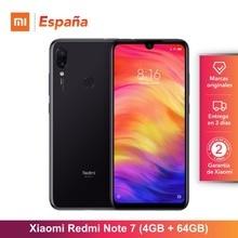 Глобальный Версия для Испании] Xiaomi Redmi Note 7 (Memoria меж de 64 ГБ, оперативная память de 4 Гб, Камара двойной trasera де 48 МП)