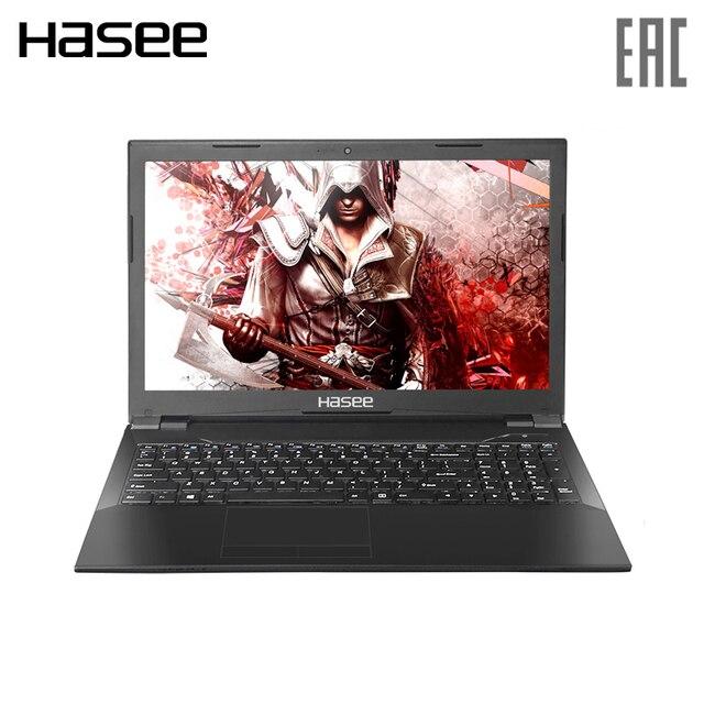 "Игровой ноутбук Hasee K670D-G4D5 15.6"" IPS/ G5400 3.70 GHz/ GTX1050 4ГБ/ 8ГБ/ 256ГБ SSD / Dos"
