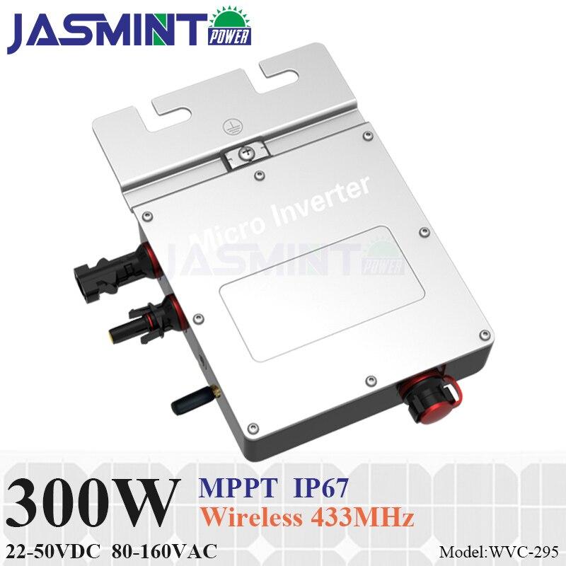 New design!!!300W grid tie micro inverter with communication function, 22-50V DC to AC 80-160V MPPT for 24V/36V system