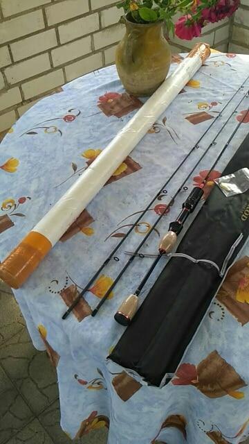 Varas de pescar 0.8-5g Mulher Vermelha
