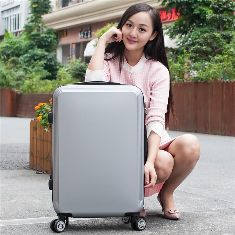 Envio Gratis Com Rodinhas Carry On Bavul Valigia Bag Valiz Maleta Mala Viagem Trolley Suitcase Luggage 2022242628inch