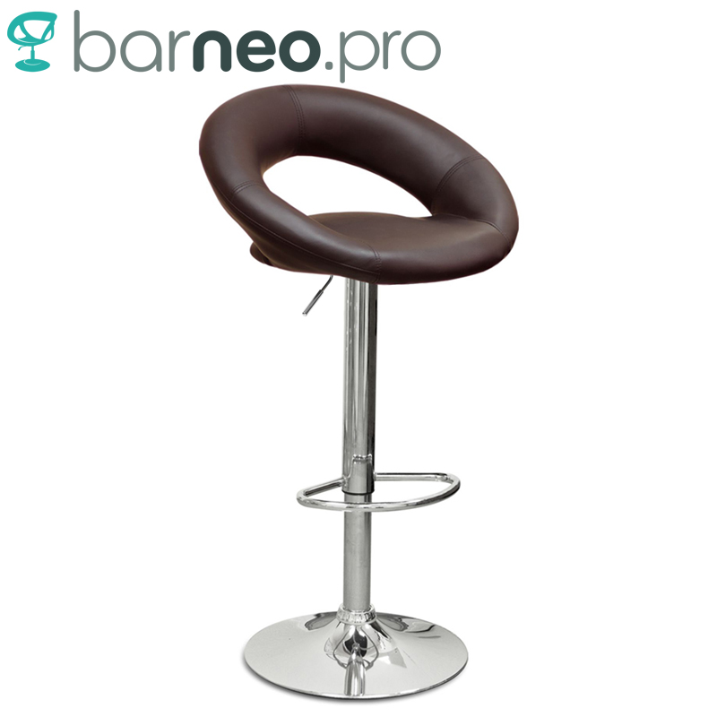 Remarkable Us 61 42 94500 Barneo N 84 Leather Kitchen Breakfast Bar Stool Swivel Bar Chair Brown Color Free Shipping In Russia In Bar Stools From Furniture On Frankydiablos Diy Chair Ideas Frankydiabloscom