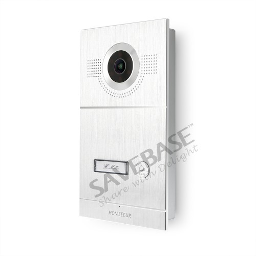 """Image 2 - HOMSECUR 7"""" Video Door Entry Phone Call System with Intra monitor Audio Intercom-in Video Intercom from Security & Protection"""