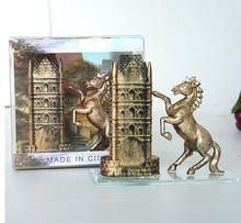 NEW Antique Building Horse Model 2 Color Christmas Home Decoration Accessories Morden Xmas Gift Office Table Desk SM5