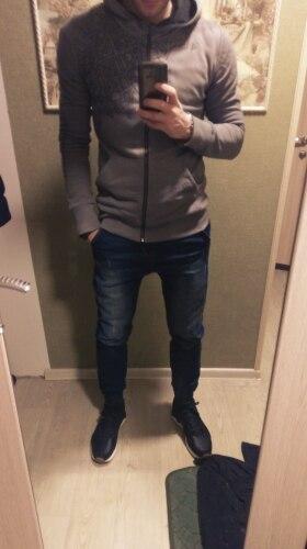 Длина: Полная Длина; хип-хоп брюки; современные мужчины;