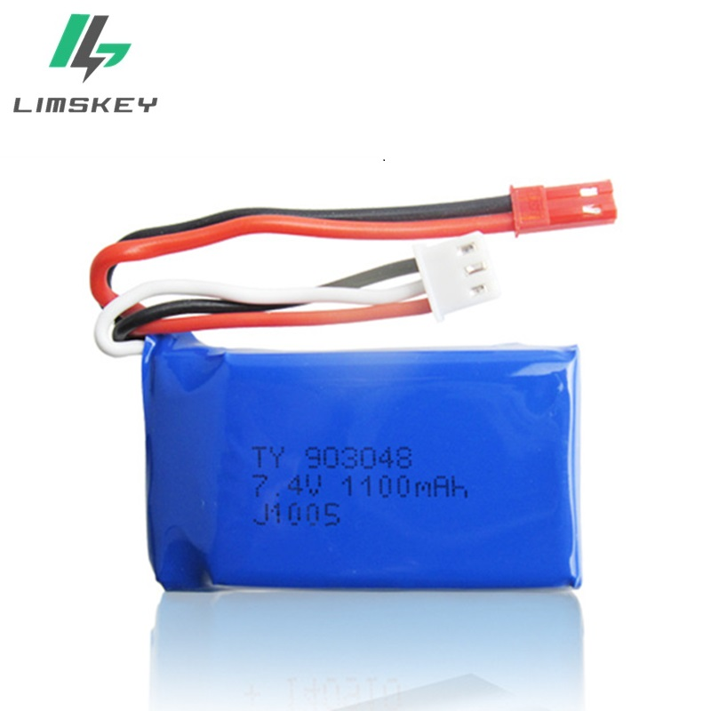 Image 4 - 3Pcs for Wltoys A949 A959 A969 A979 K929 LiPo Battery 7.4V 1100mah 903048 25c Lipo Battery For RC Helicopter Airplane Cars Boats-in Parts & Accessories from Toys & Hobbies