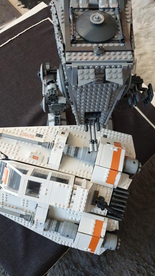 LEPIN 05052 Star Wars The 10174 AT-ST Block Set (1136pcs) photo review