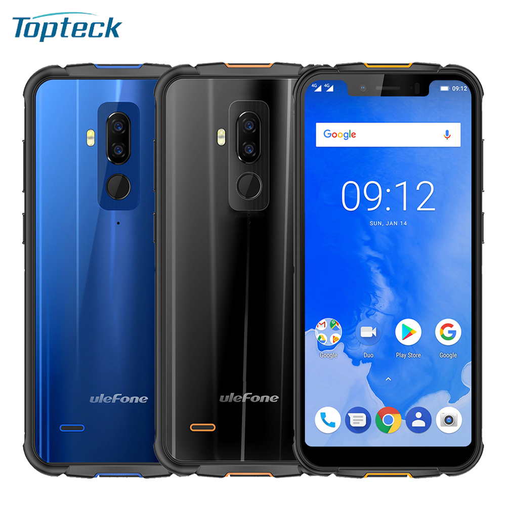 Ulefone Armor 5 Rugged IP68 Waterproof Mobile Phone Android 8 1 5 85inch Octa Core 4GB