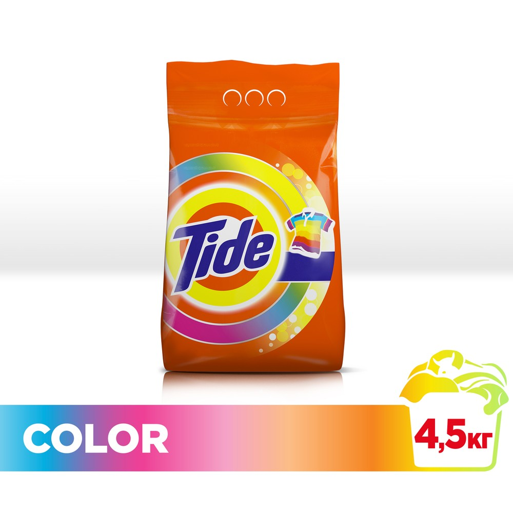 Laundry detergent Tide Automatic Color 30 wash 4.5 kg.