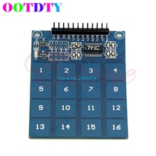 Switch Digital Touch TTP229 16 Channel Capacitive Touch Sensor Module For font b Arduino b font