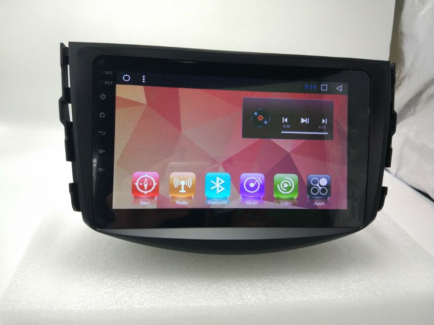 Car Radio GPS Navigation For Toyota RAV4 2007 2012 Car Stereo Multimedia Player in Car Multimedia Player from Automobiles Motorcycles
