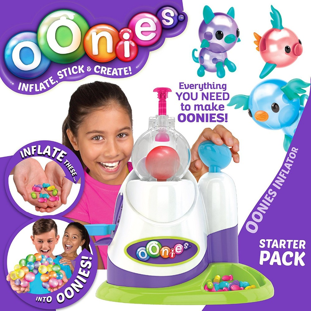 Moscow Warehouse High Quality Magic Oonies Onies Onoies Balloon Creative Sticky Ball Fun Bubble Inflator Toys Gift Onise