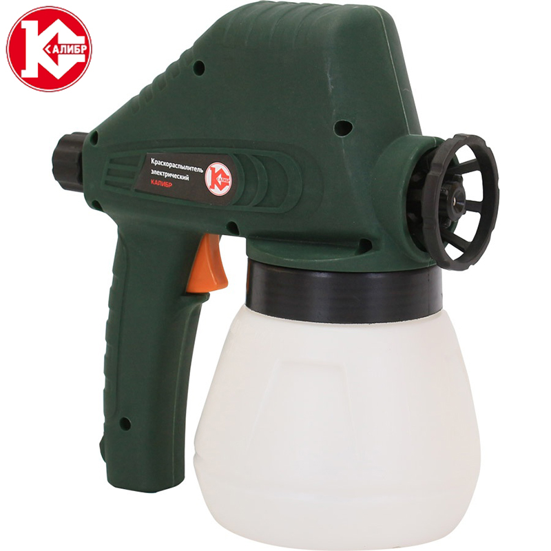 Kalibr EKRP-80/0.8 Electric  Spray Lacquer Gun Paint Spray Gun Paint Painting Tools High Atomization kalibr tp 2100 electric hot air gun thermoregulator heat guns shrink wrapping thermal power tool